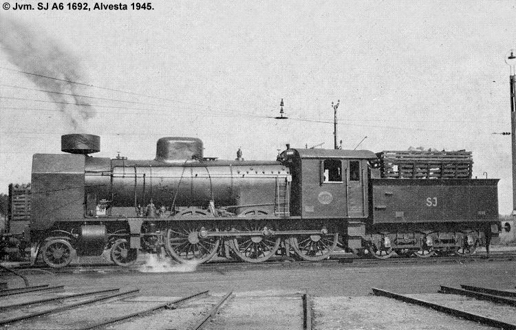 SJ A6 1692