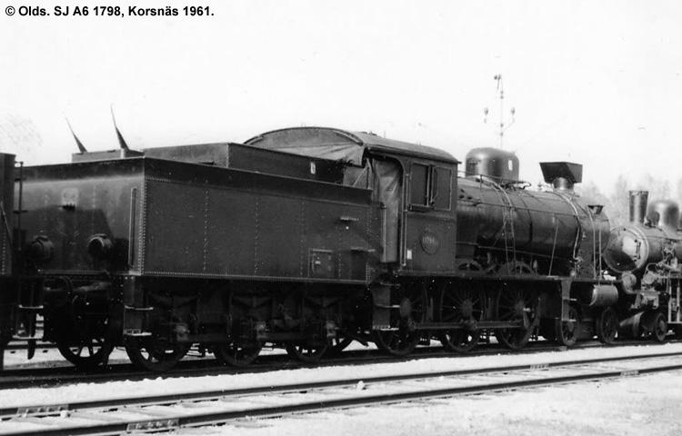 SJ A6 1798