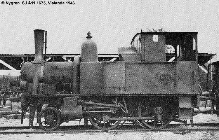 SJ Å11 1675