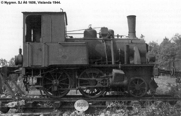 SJ Å6 1606