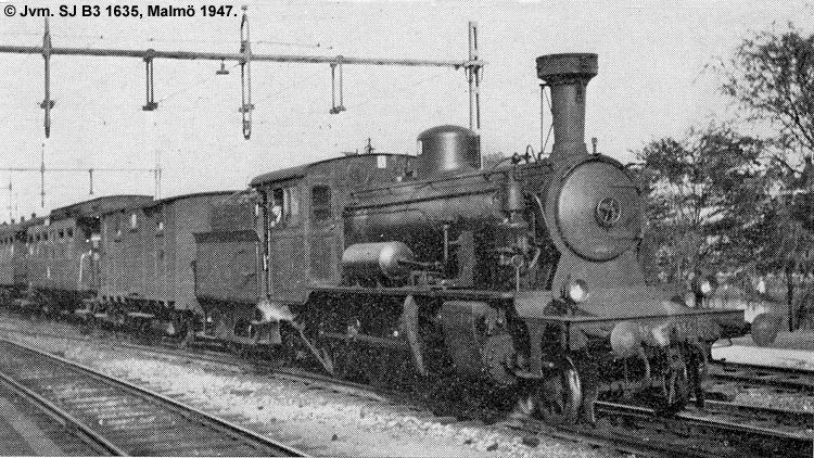 SJ B3 1635