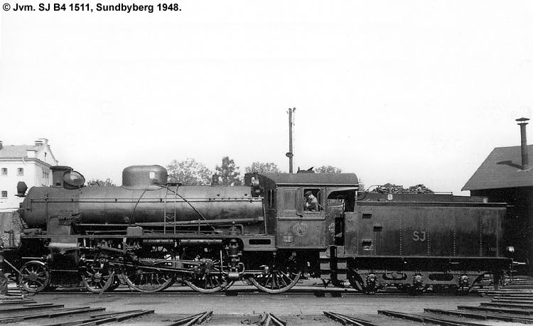 SJ B4 1511