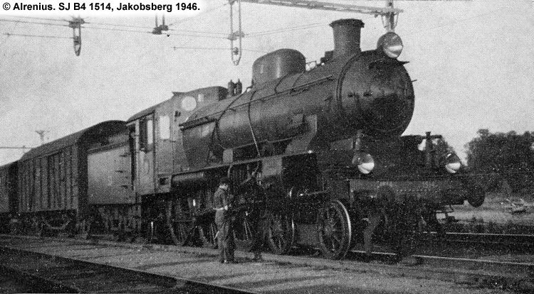 SJ B4 1514