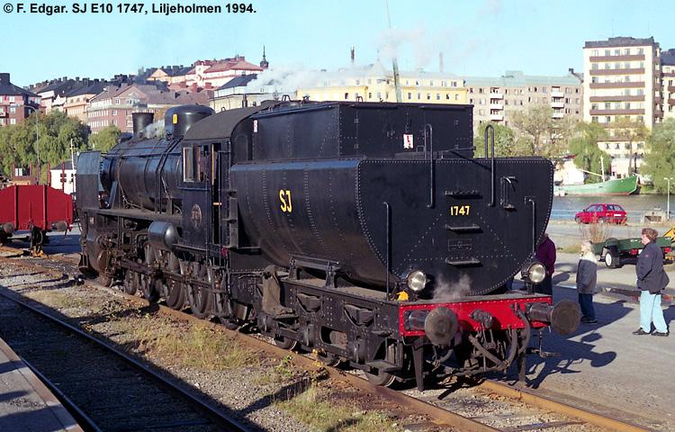 SJ E10 1747