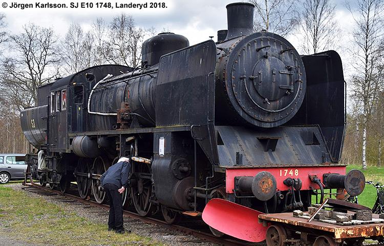 SJ E10 1748