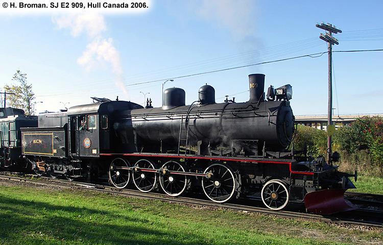 SJ E2 909
