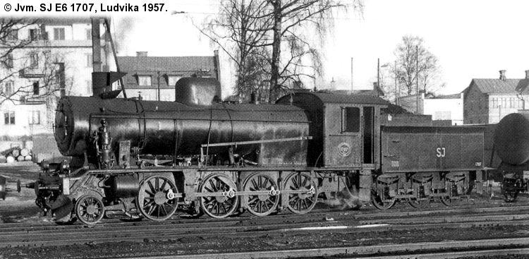 SJ E6 1707