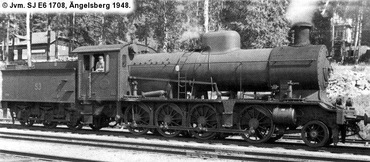 SJ E6 1708