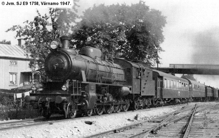 SJ E9 1758