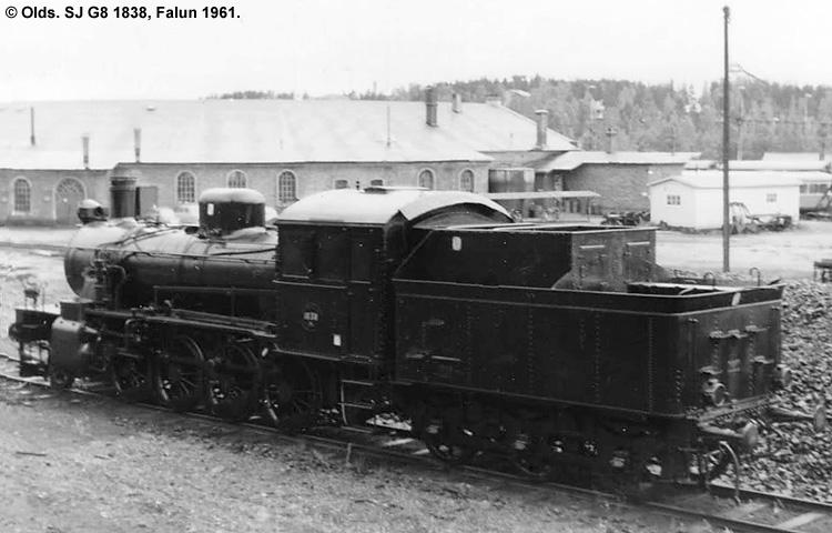SJ G8 1838