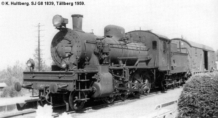 SJ G8 1839
