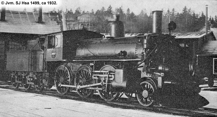SJ HSa 1499