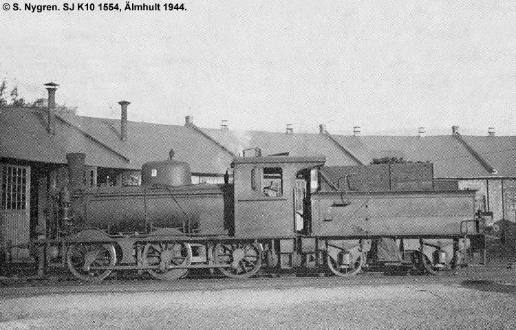 SJ K10 1554
