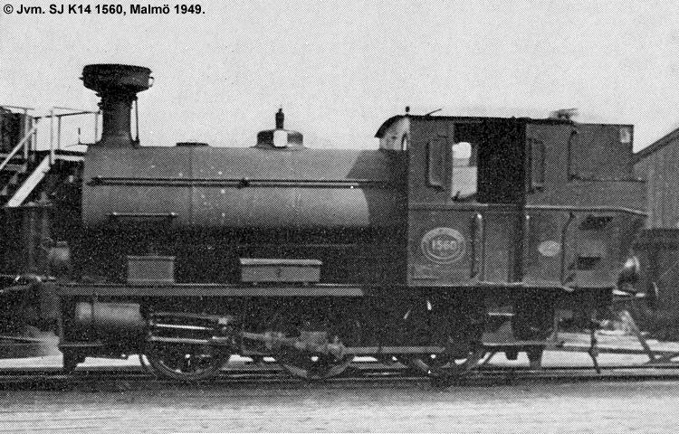 SJ K14 1560