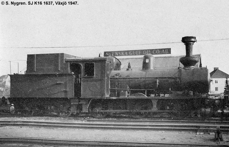 SJ K16 1637