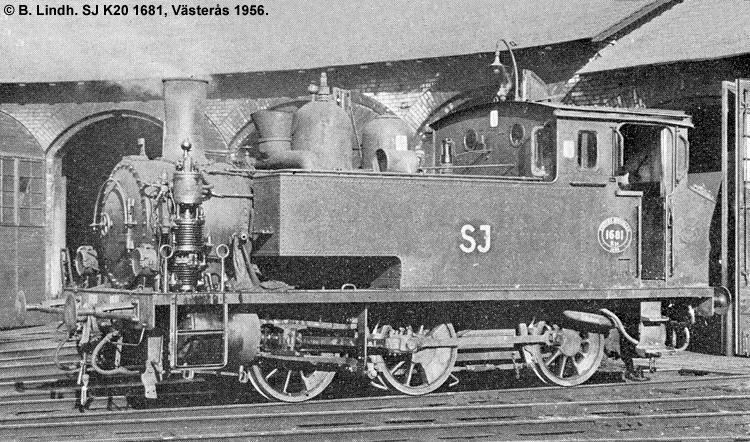 SJ K20 1681