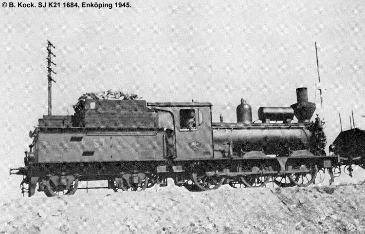 SJ K21 1684