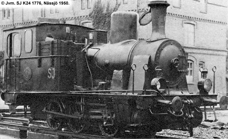 SJ K24 1776