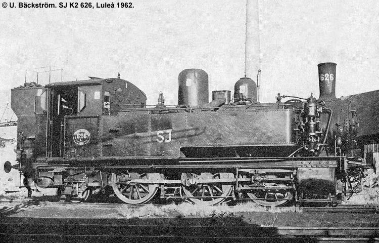 SJ K2 626