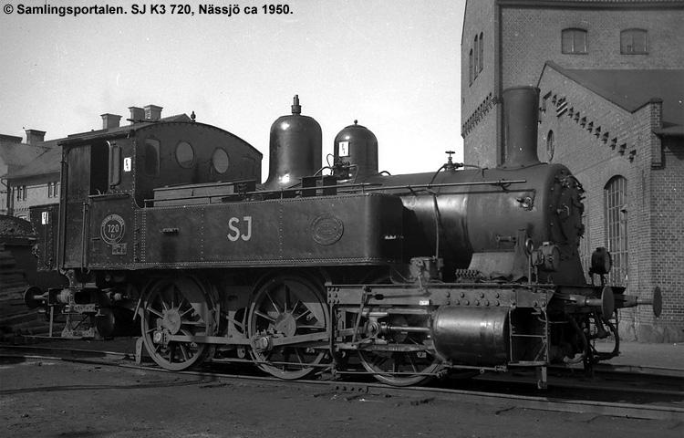 SJ K3 720