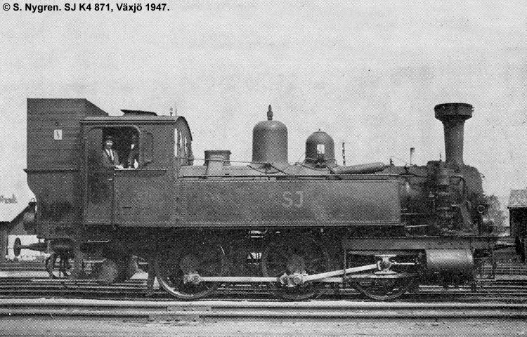 SJ K4 871