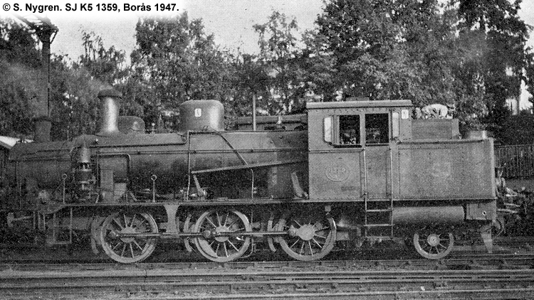 SJ K5 1359