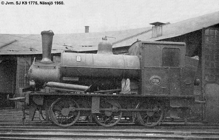 SJ K9 1775
