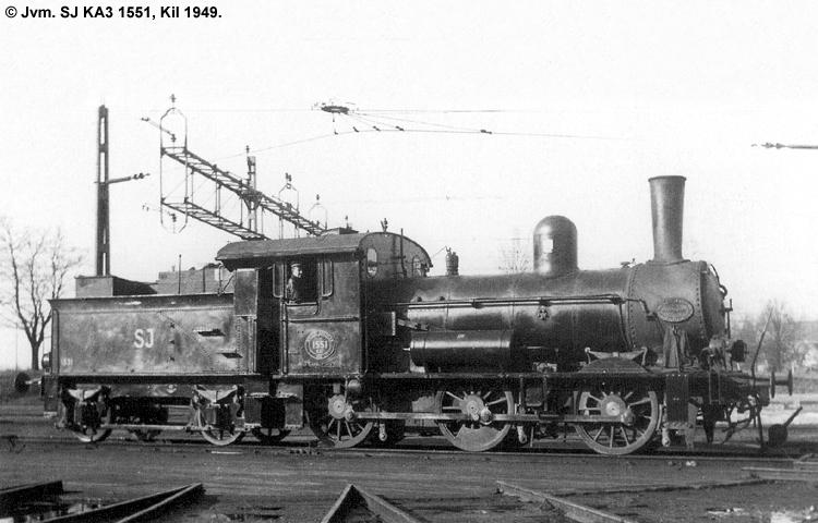 SJ KA3 1551