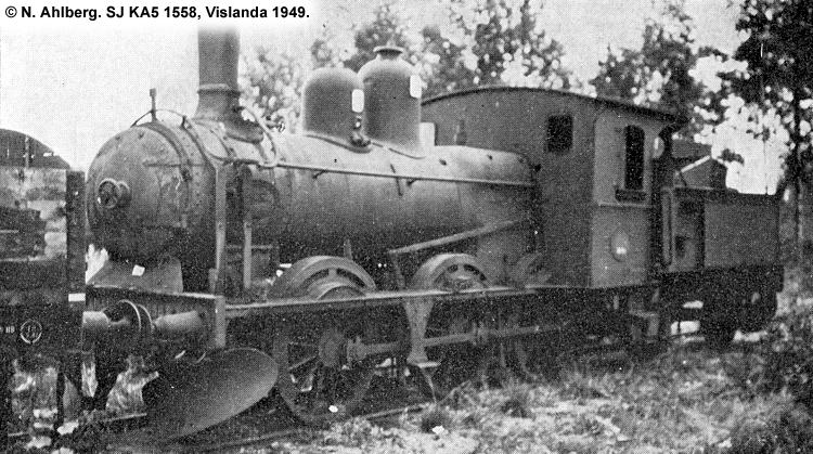 SJ KA5 1558