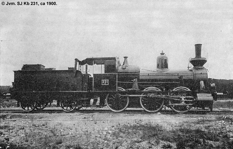SJ Kb 231