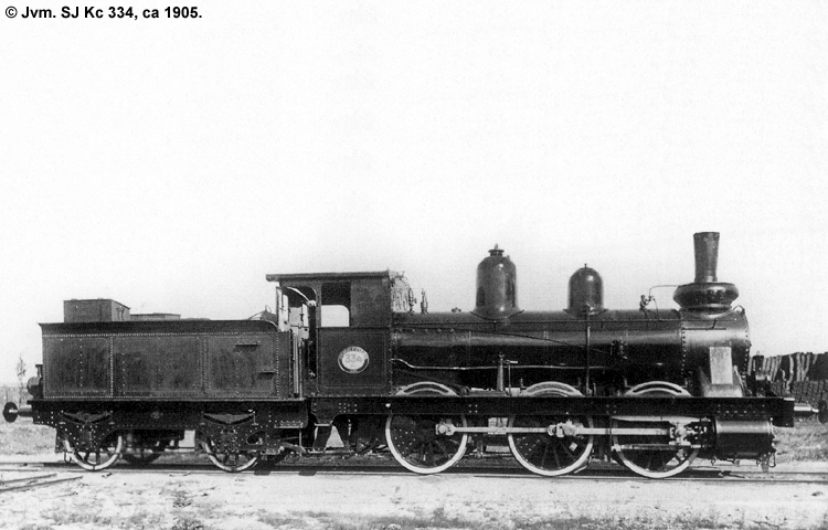 SJ Kc 334