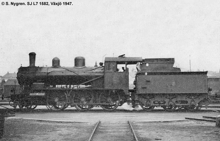 SJ L7 1582