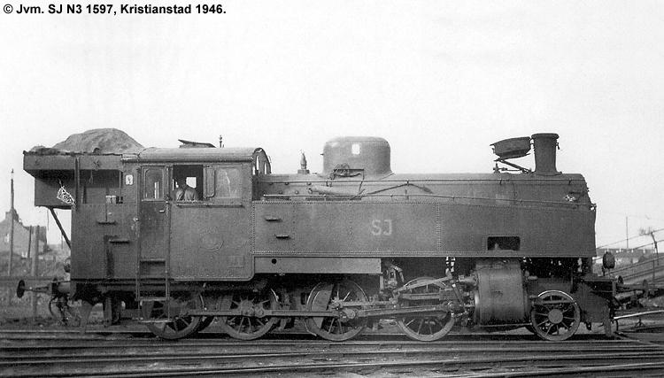 SJ N3 1597