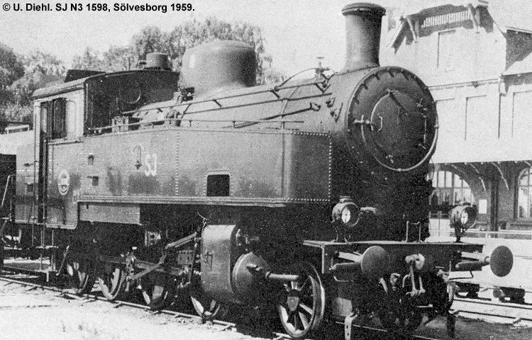 SJ N3 1598