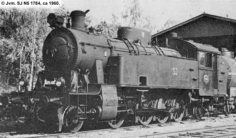SJ N5 1784