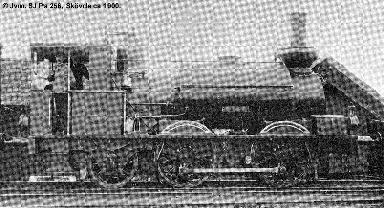 SJ Pa 256