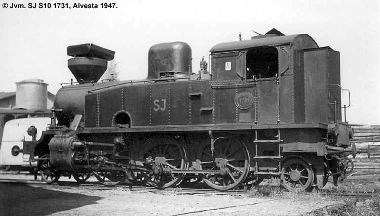 SJ S10 1731