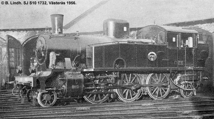 SJ S10 1732