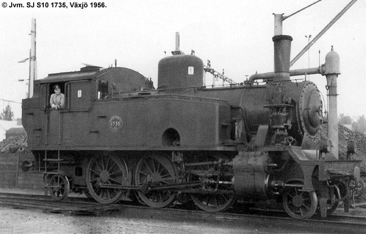 SJ S10 1735