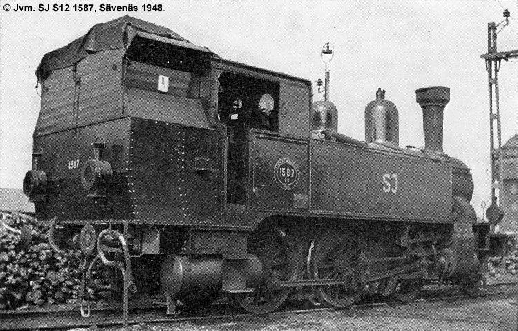 SJ S12 1587