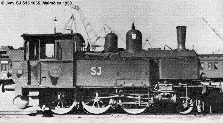 SJ S15 1665