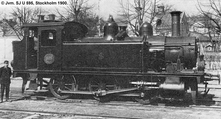 SJ U 595