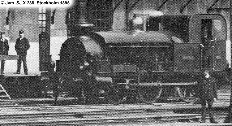 SJ X 288