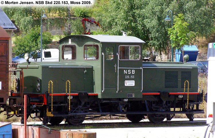 NSB Skd 220a 153