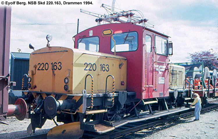 NSB Skd 220a 163