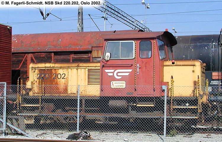 NSB Skd 220c 202