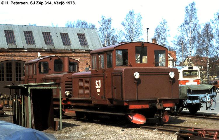 SJ Z4p 314