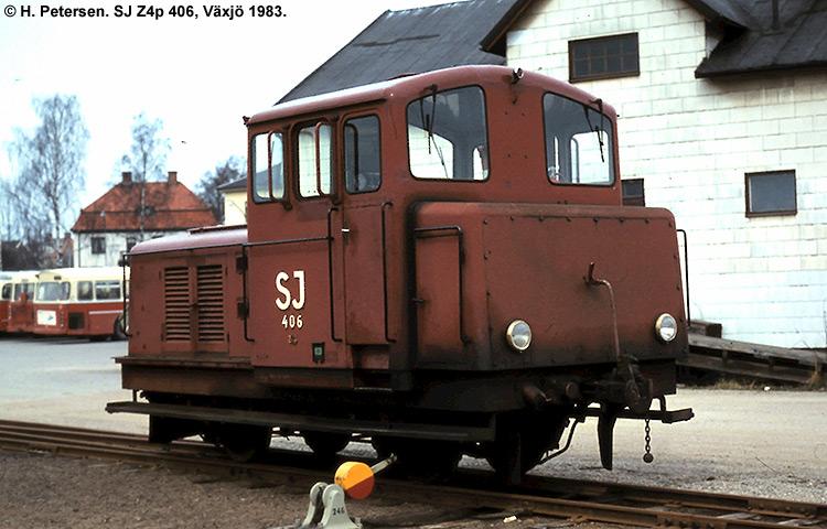 SJ Z4p 406