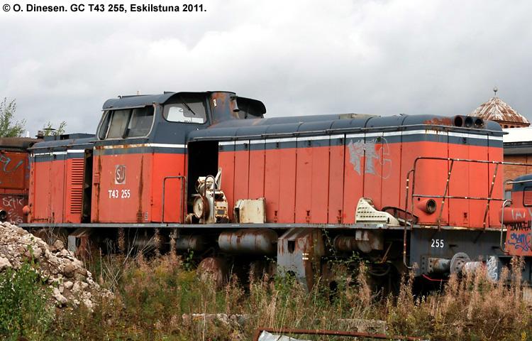 GC T43 255