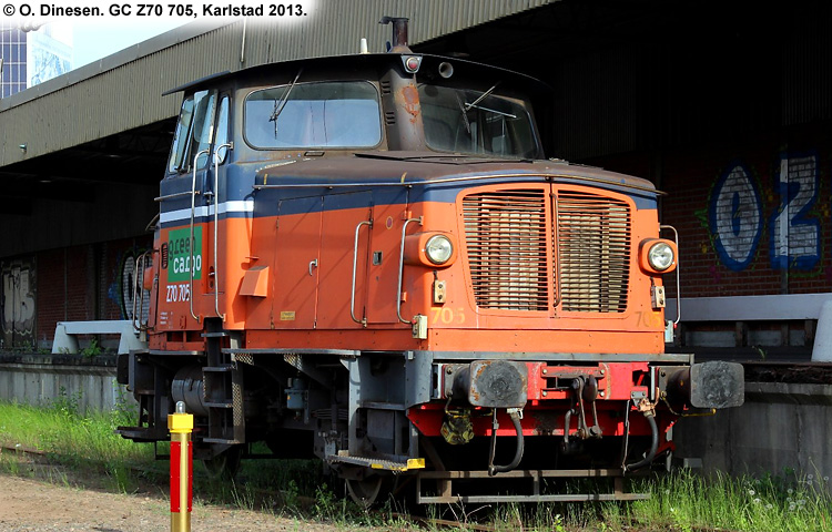 GC Z70 705